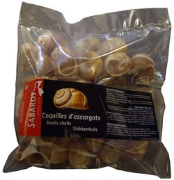 Escargot Shells Extra-large Escargot Shells - 12 x 3 doz (Wholesale prices. Sold per case only)