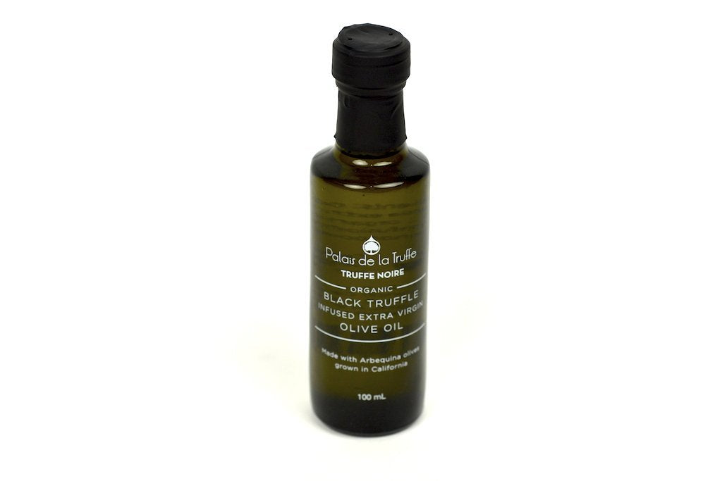 Black Truffle Infused Extra Virgin Olive Oil 100ml Case of 12 Units - Wholesale