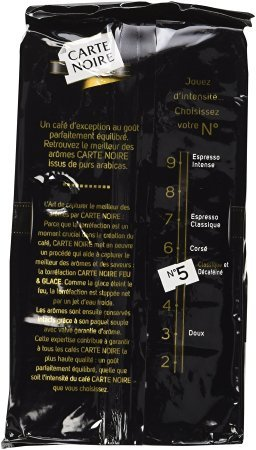 Carte Noire Ground Coffee 250g(8.8oz) Case of 12 Units - Wholesale