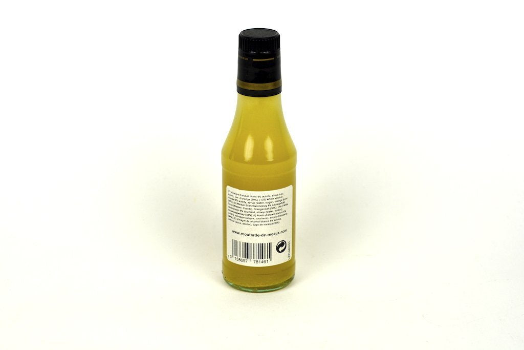 Moutarde de Meaux White Alcohol Vinegar 6% Flavoured With Orange Syrup 25cl Case of 6 Units - Multipack