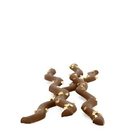Révillon · Sarments chocolate twigs milk nougatine · 125g