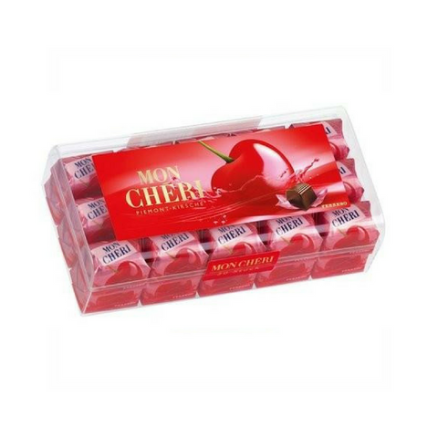 Mon Chéri · chocolate covered cherries, box of 30 · 315g (11.1 oz)