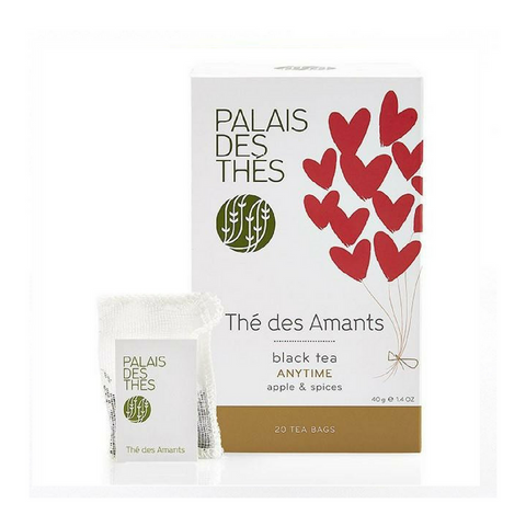 THÉ DES AMANTS black tea Signature Tea Blend from Paris - Palais Des Thes