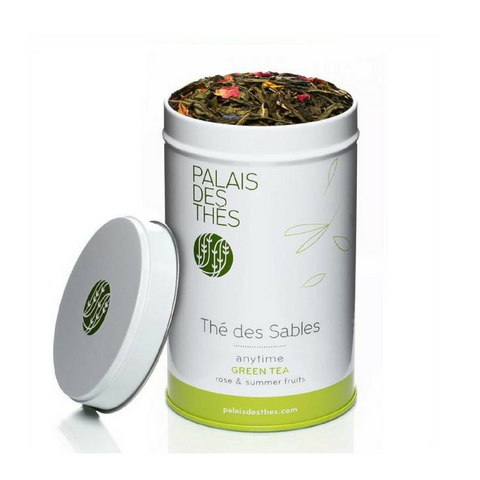 THÉ DES SABLES green tea from Paris - Palais Des Thes