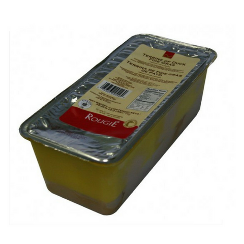 TERRINE OF FOIE GRAS WITH ARMAGNAC 1KG Rougie Wholesale