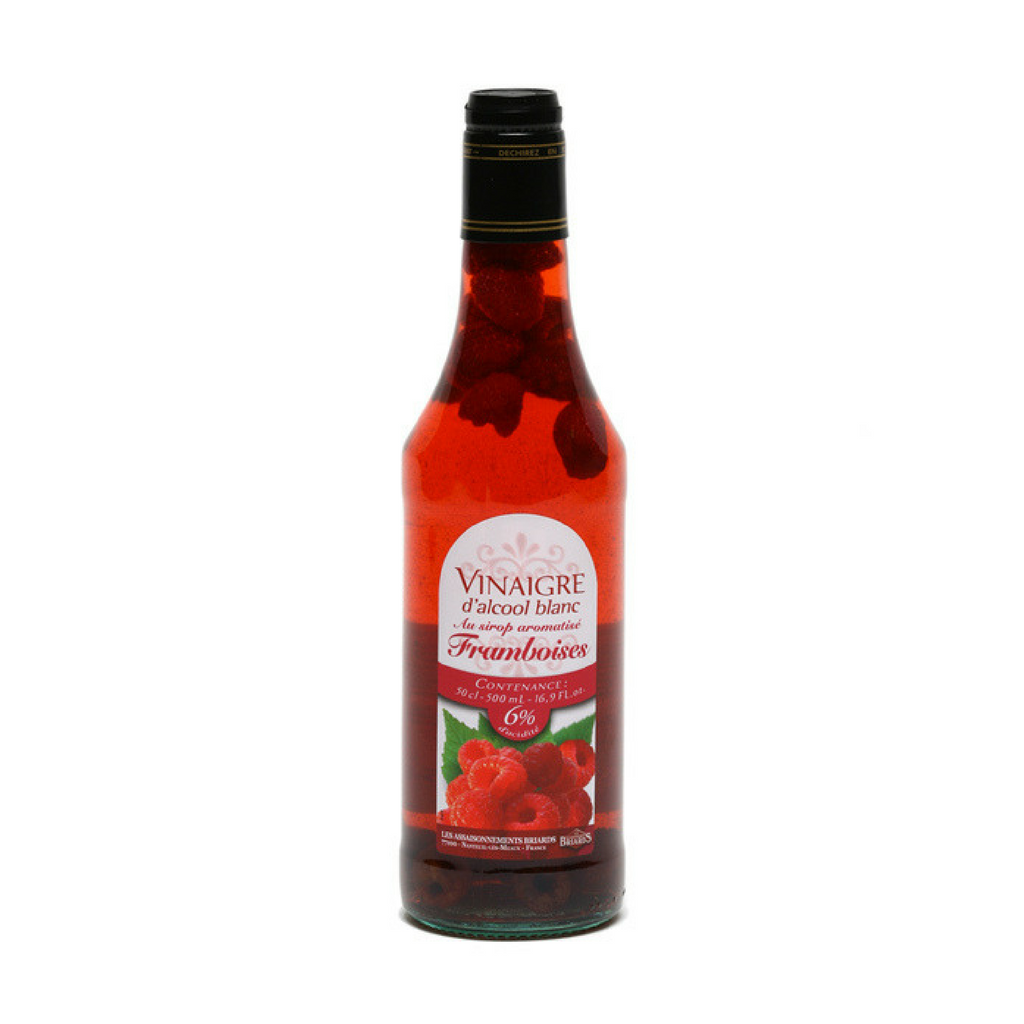 White alcohol vinegar 6° flav. with cranberry syrup and fruits 50cl