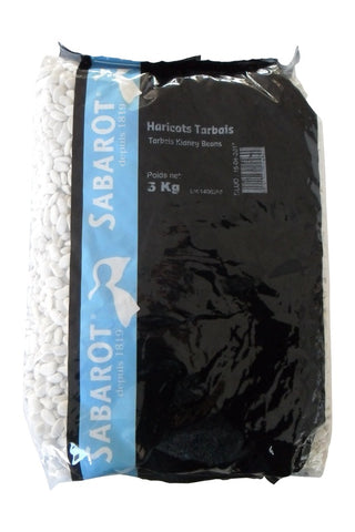 Sabarot Tarbais Beans 2 x 11 lbs (Wholesale prices. Sold per case only)