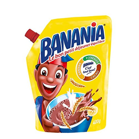 Banania Chocolate Breakfast Mix Imported From France 14.1oz Case of 12 Units - Wholesale