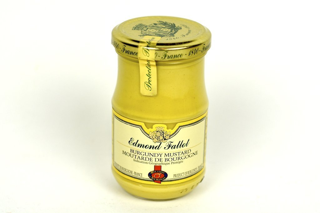 Edmond Fallot Dijon Mustard with Burgundy Wine 7.4Oz Case of 24 Units - (Wholesale prices. Sold per case only)