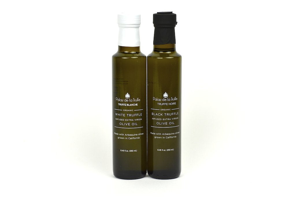 Black and White Truffle Infused Extra Virgin Olive Oil 8.45fl oz (250ml)