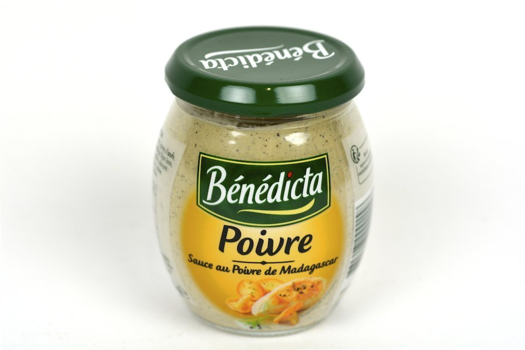 Benedicta Gourmet Black Peppercorn Sauce - Sauce au Poivre 8.5oz(240g) Case of 12 Units - Wholesale