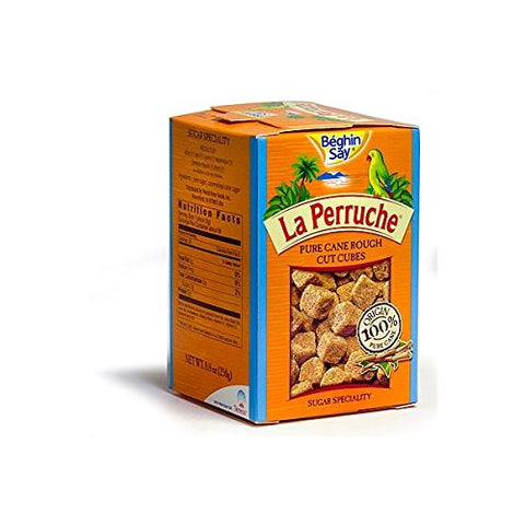 La Perruche Brown Sugar Cubes 8.8oz(250g) Case of 12 Units - Wholesale