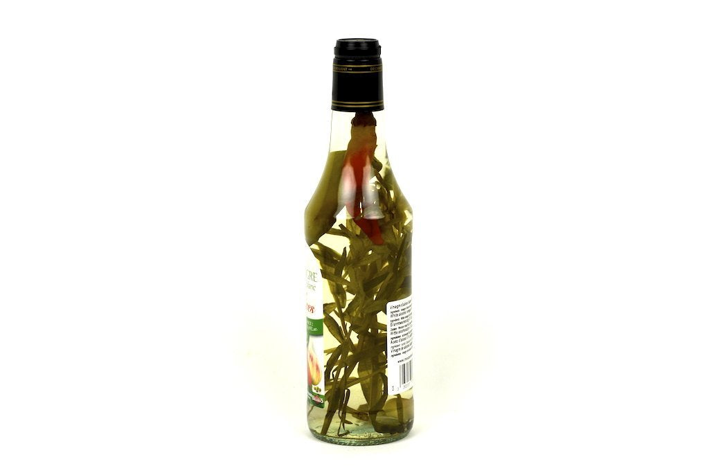Moutarde de Meaux White Alcohol Vinegar 6% with Spices 50cl Case of 6 Units - Multipack