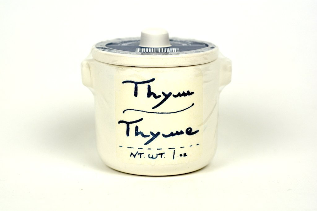 Aux Anysetiers du Roy Thyme Herbs in Crock 1oz
