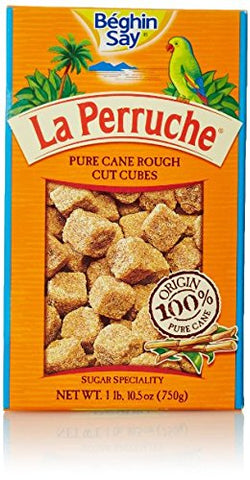 La Perruche Brown Sugar Cubes 10.5oz(750g) Case of 6 Units - Wholesale