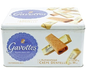 Crêpes Dentelle (Gavottes pure butter) - 4 x 44.1 oz (Wholesale prices. Sold per case only)