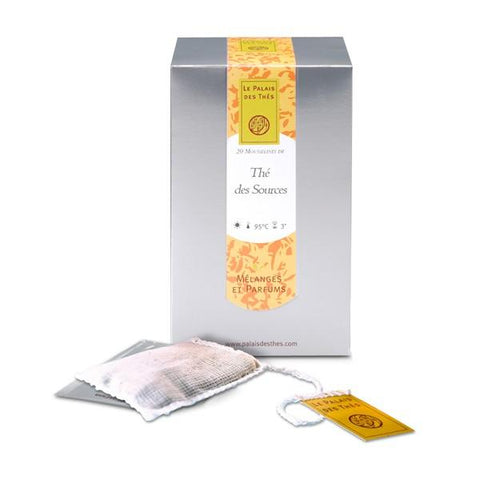 THÉ DES SOURCES green tea from Paris - Palais Des Thes