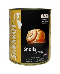 Canned Escargots Very Large Helix Escargots - 12 x 8 doz (Wholesale prices. Sold per case only)