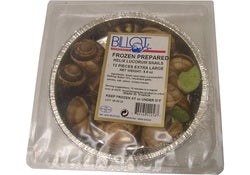 Frozen Escargots IQF Extra Large Escargots - Prepared Helix - 12 trays of 12 pcs (Wholesale prices. Sold per case only)