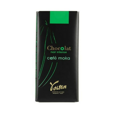 Voisin · Bittersweet chocolate bar with moka · 100g (3.5 oz)