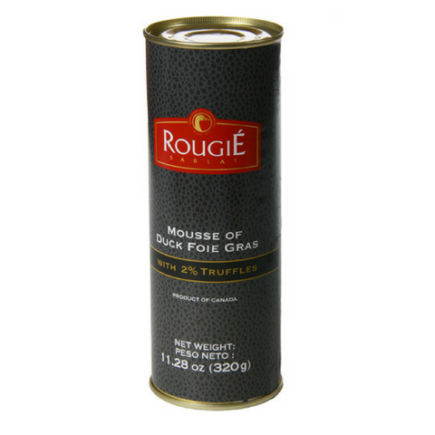 MOUSSE OF FOIE GRAS WITH 2% TRUFFLES (PORK-FREE, 50% FOIE GRAS) Rougie Wholesale