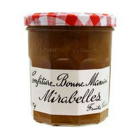 Bonne Maman Mirabelle Golden Plum Jam from France 13 oz. (370 g)