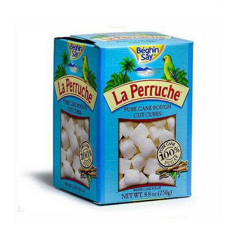 La Perruche White Sugar Cubes, White, 8.8-Ounce