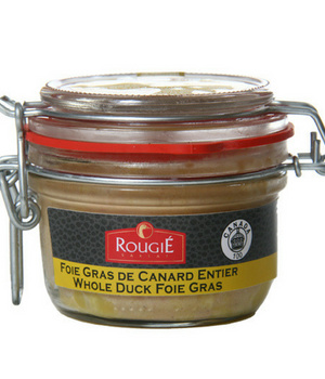 WHOLE FOIE GRAS 180G JAR Rougie Wholesale