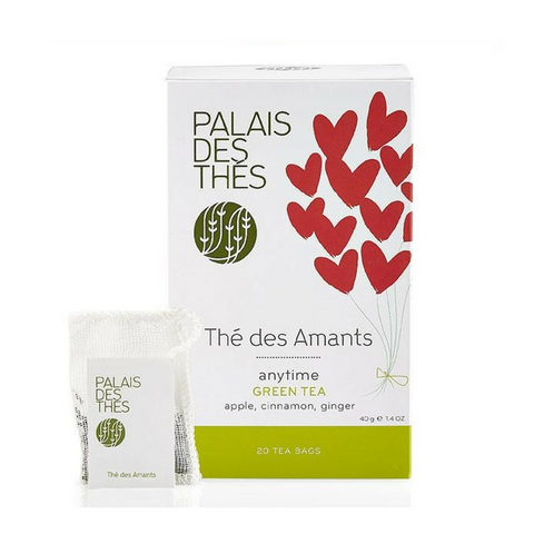 THÉ DES AMANTS green tea Signature Tea Blend from Paris- Palais Des Thes