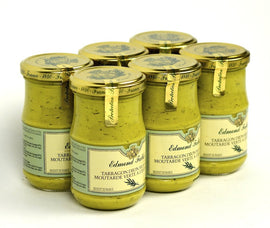 Edmond Fallot Tarragon Dijon Mustard 7.4Oz Case of 6 Units - Multipack