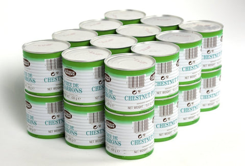 Clement Faugier Chestnut Puree 15.5Oz Case of 24 Units - (Wholesale prices. Sold per case only)
