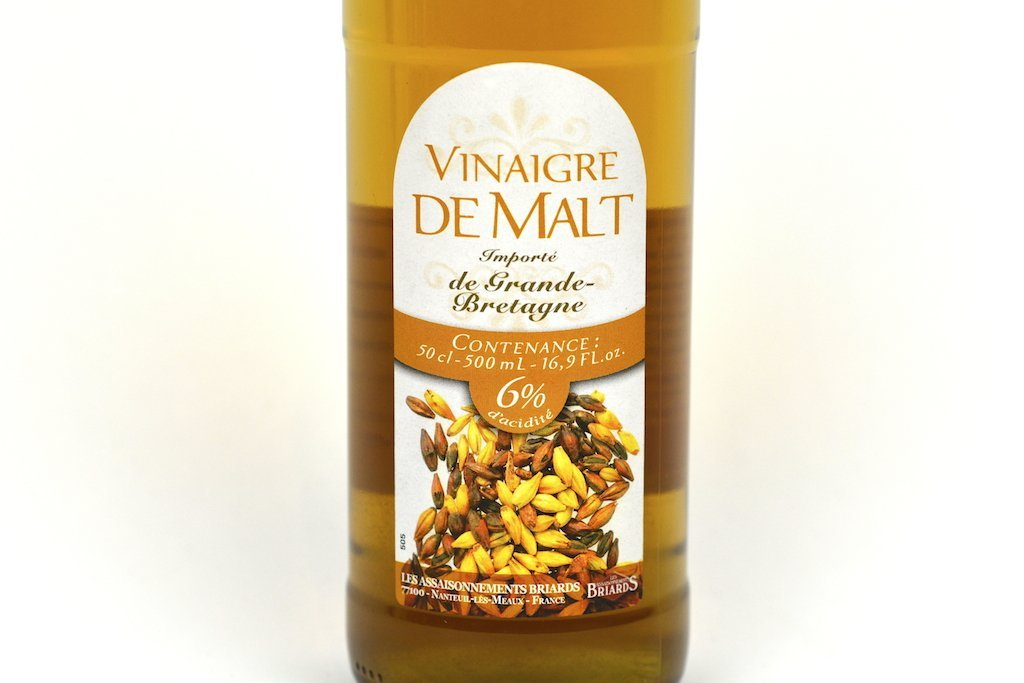 Moutarde de Meaux Malt vinegar 6% 50cl Case of 6 Units - Multipack