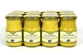 Edmond Fallot Dijon Mustard with Green Peppercorns 7.4Oz Case of 24 Units - Wholesale