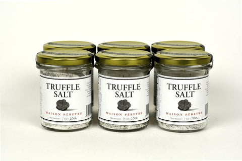 Pebeyre Truffle Salt From France 7Oz Case of 6 Units - Multipack
