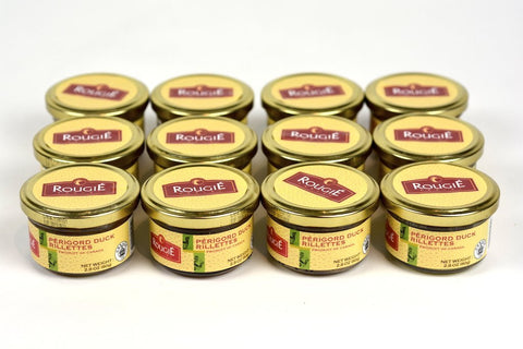 Rougie Duck Rillettes from Perigord 2.8oz(80g) Case of 12 Units - Wholesale