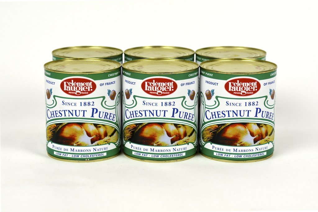 Clement Faugier French Chestnut Puree 31Oz Case of 6 Units - Multipack