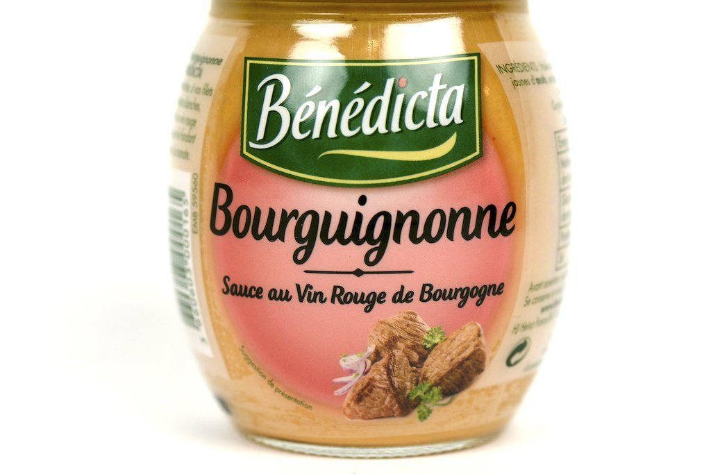 Benedicta Gourmet Burgundy Sauce Bourguignonne 8.8 oz(250g) Case of 6 Units - Multipack