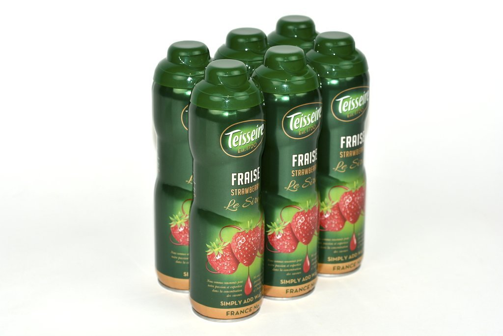 Teisseire Strawberry French Syrup 60cl Case of 6 - Multipack