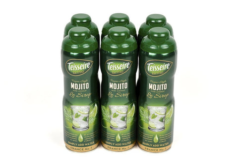 Teisseire Mojito French Syrup 60cl Case of 6 Units - Multipack