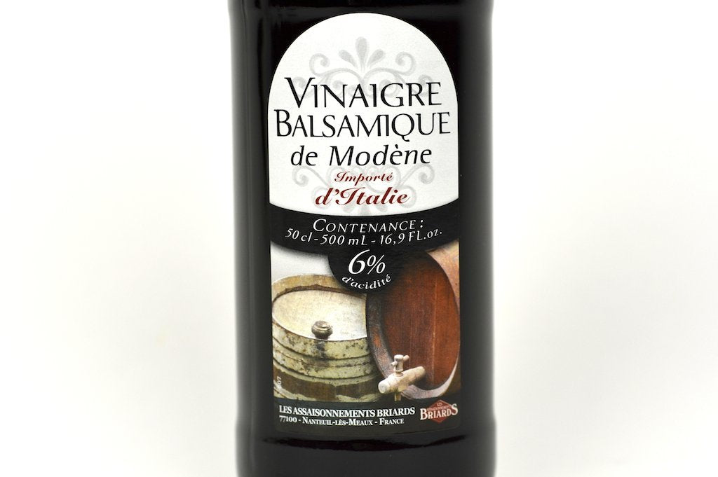 Moutarde de Meaux Balsamic vinegar 6% 50cl Case of 6 Units - Multipack