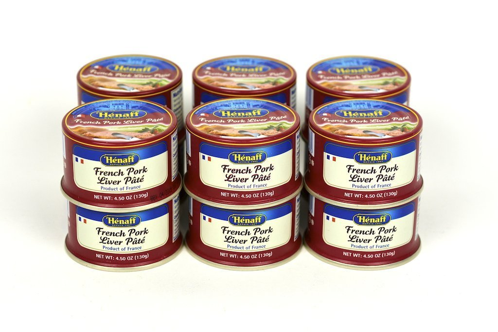 Henaff Pork Liver Pate 4.5Oz Case of 24 Units - Wholesale