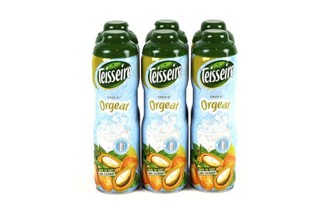 Teisseire Orgeat (almond) French Syrup 60cl Case of 6 - Multipack