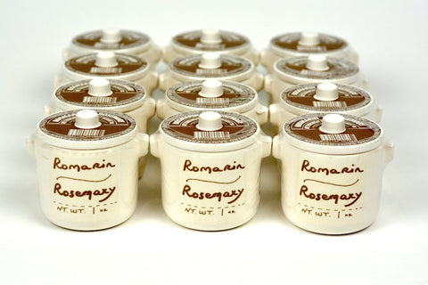 Aux Anysetiers du Roy Rosemary Herbs in Crock 1oz Case of 12 Units - … Wholesale