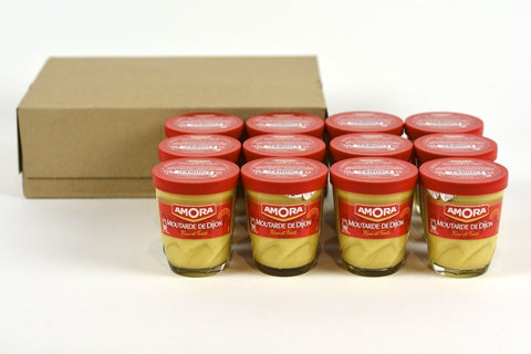 Amora Dijon Mustard 5.3 Oz Jar Case of 12 Units - (Wholesale prices. Sold per case only)