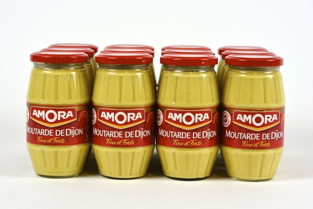 Amora Dijon Mustard 440g Case of 12 Units - (Wholesale prices. Sold per case only)