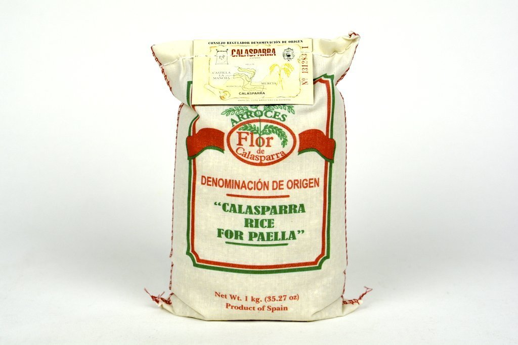 Flor de Calasparra-Calasparra Rice For Paella 1kg(35.27oz) Case of 3 Units - Multipack