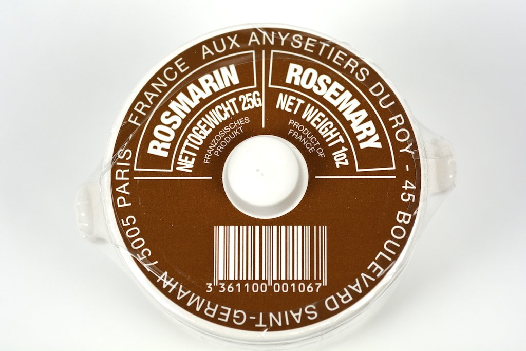 Aux Anysetiers du Roy Rosemary Herbs in Crock 1oz