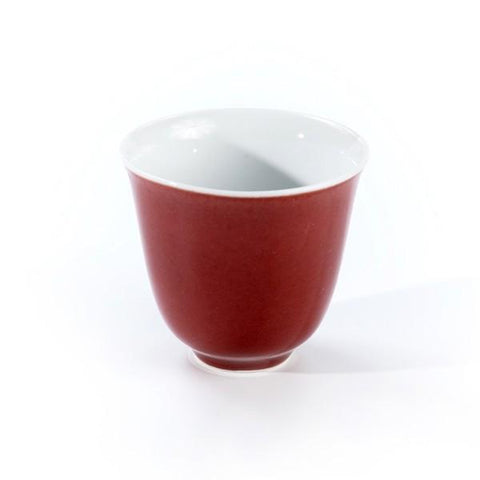 Ming Oxblood Chinese Cup - Le Palais Des Thes