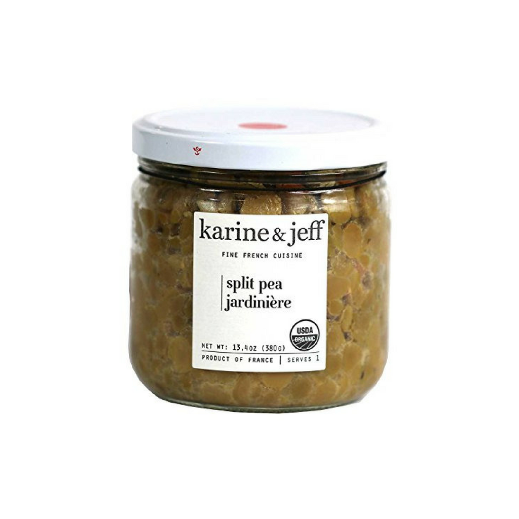 Karine & Jeff Organic French Split Peas with Vegetables 13.4 oz