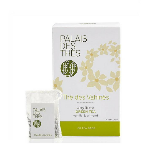 THÉ DES VAHINÉS green tea Signature Tea Blend from Paris - Palais Des Thes